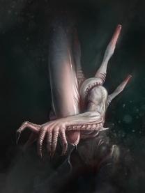 Flesh Xenomorph